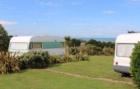 hire our on-site caravan