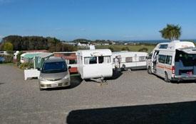 Accommodation at Riverton Holiday Park, New Zealand