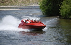 riiver jet boating