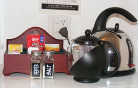 tea-coffee making facilities in Unit Four