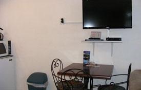 flatscreen TV in the room