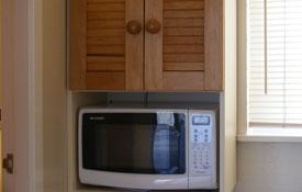 microwave, fridge and tea coffee making facilities