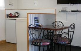 dining area of Unit Six