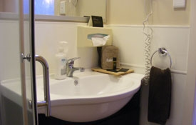 ensuite bathroom of Unit Nine