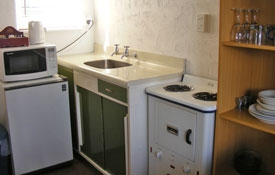 Unit Ten has full kitchen facilities