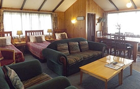 Pine Cottage can accommodate up to 7 guests
