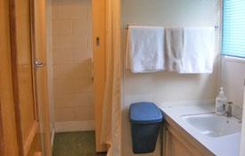 private bathroom of Unit Eleven