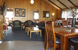 lounge of 2-bedroom Pine Cottage