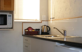 cooking facilities available in Unit Nine