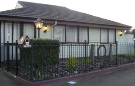 fully fenced two-bedroom cottage