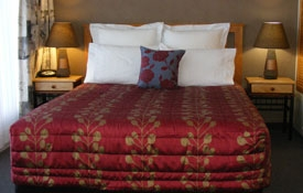Unit Three - queen-size bed in the room