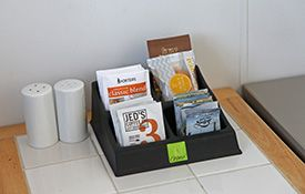 access unit - tea and coffee