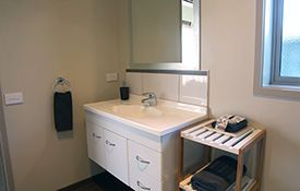 executive studio unit - bathroom