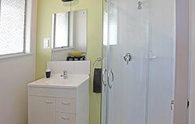 1-bedroom apartment - bathroom shower