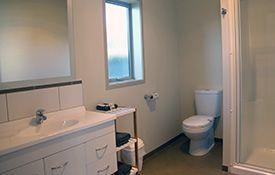 executive studio unit - bathroom shower