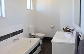 2-bedroom apartments - bath