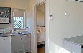 executive studio unit - kitchen