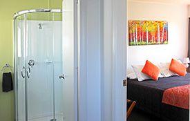 1-bedroom apartment - bathroom and bedroom