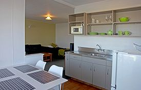 2-bedroom apartments - dining area