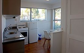 2-bedroom apartments - kitchen / dining area
