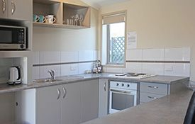 executive 1-bedroom apartment - kitchen