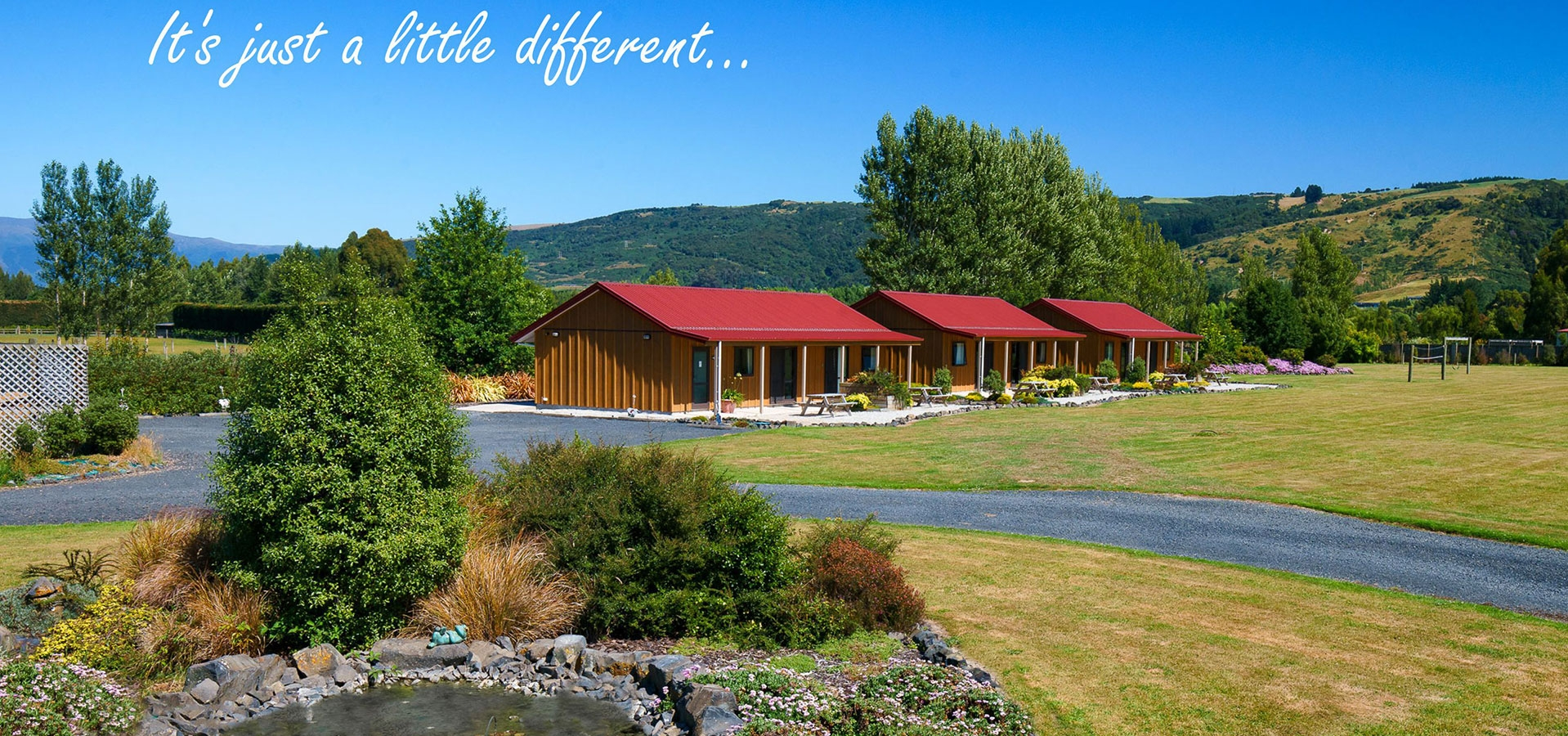 find Longbourne Lodge Motel in a beautiful rural setting of Mosgiel