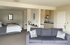 recently refurbished apartment to high stardards