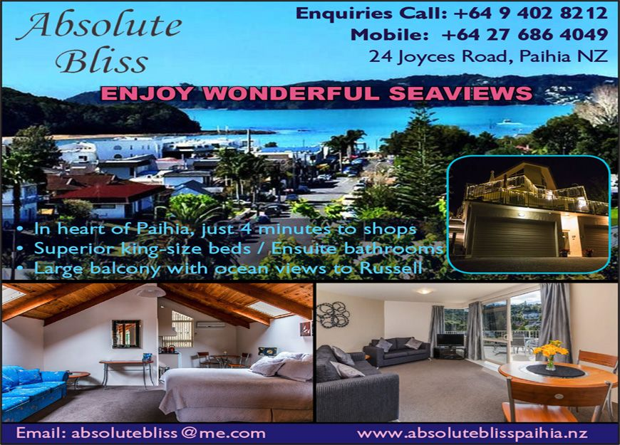 accommodation in Paihia