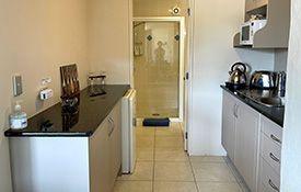 kitchen of Platinum Suite