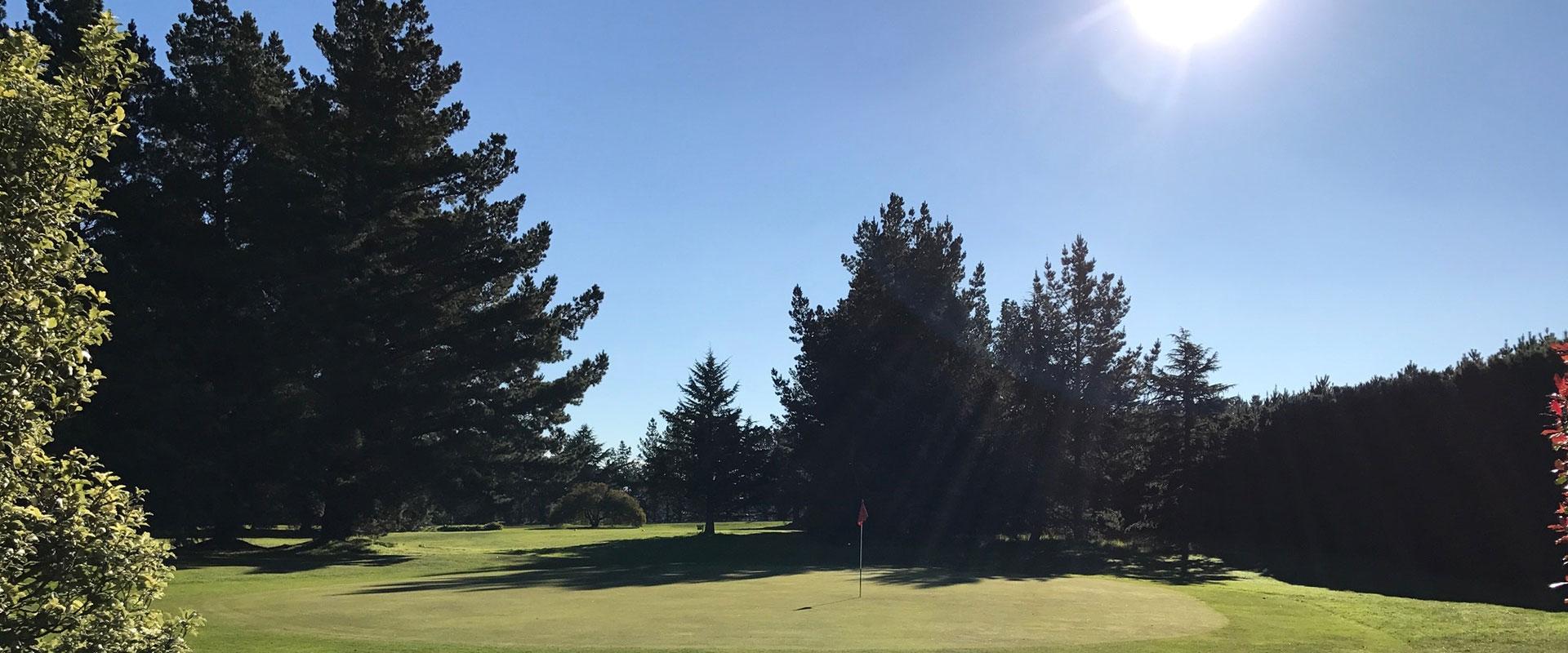 par 73 golf course