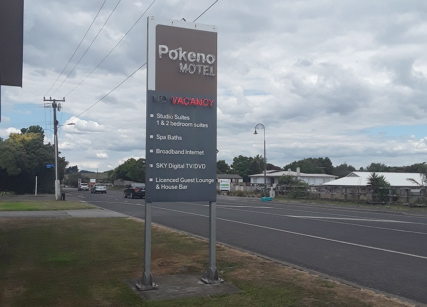 vacancy at the pokeno motel