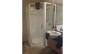 2-bedroom unit shower