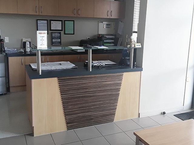 pokeno motel reception area