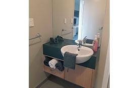 studio unit bathroom