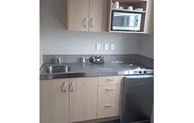 studio unit full kitchenette