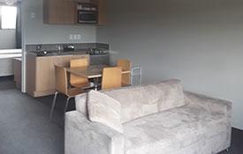2-bedroom unit kitchenette