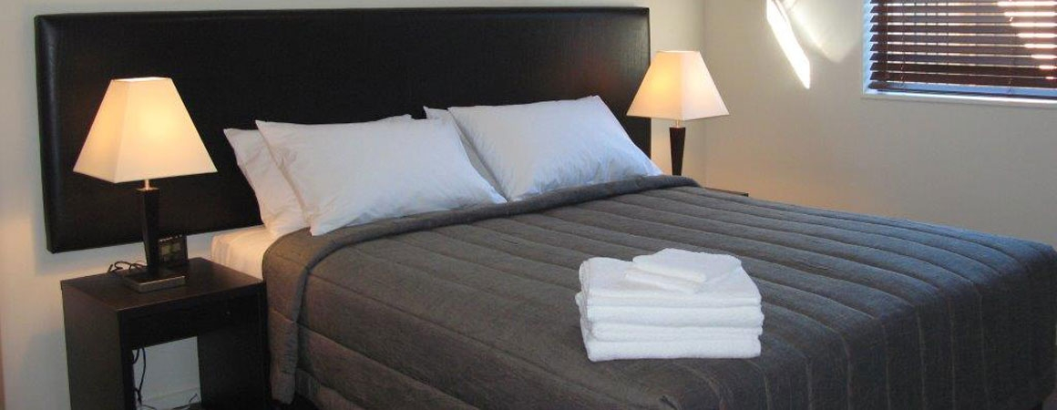 spacious rooms with clean beddings