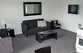 living room of 2-Bedroom unit