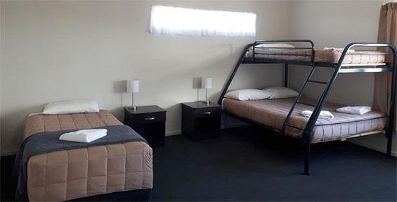 2-bedroom apartment bunks