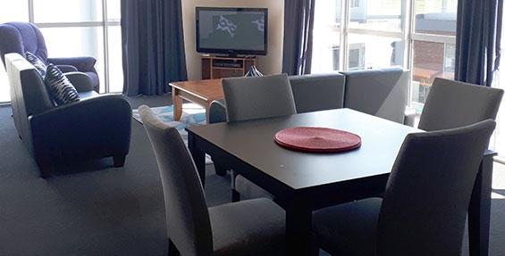2-bedroom apartment living area