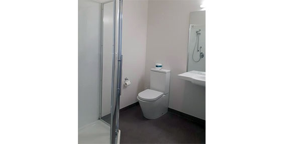 family studio bathroom