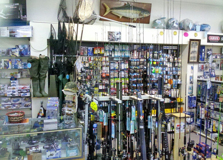 fishing gear and baits