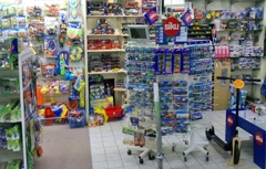 huge variety of toys in the shop