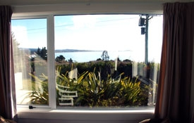lovely sea views from the lounge