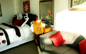 ideal accommodation for two couples