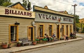 St Bathans' Vulcan Hotel