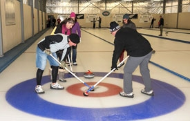 New Zealand's only indoor curling rink