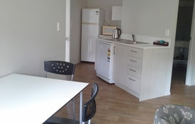 kitchen of our large 2-bedroom unit