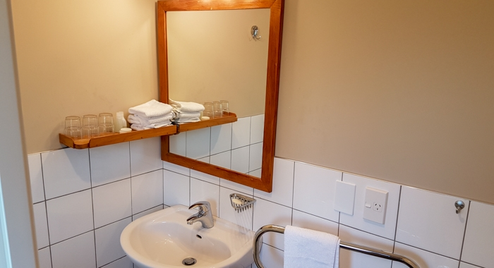 bathroom of executive motels