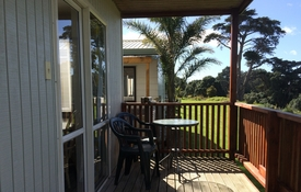 enjoy beautiful views from your own deck
